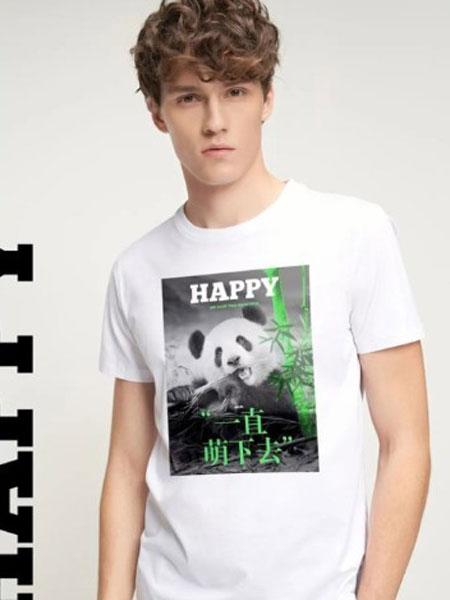 七匹狼男装品牌2020春夏新款自然守护者系列T恤