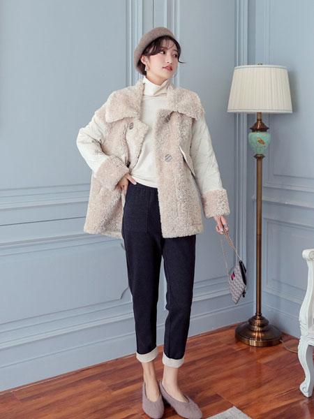 YANGER女装品牌2020春夏新款纯色毛呢气质马甲