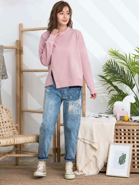 ISSUE亦抒女装品牌2020春夏新款纯色气质长袖上衣
