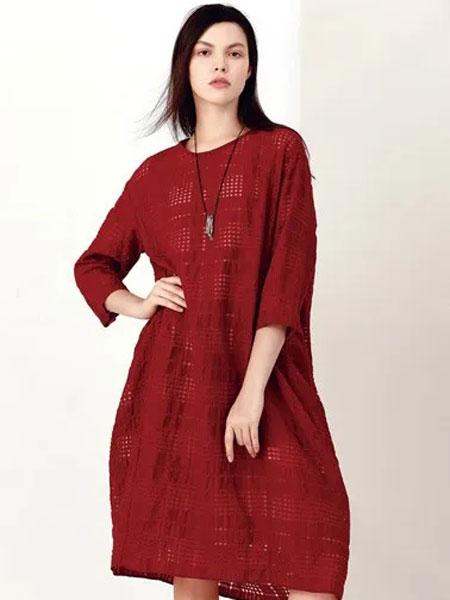 ZAIN形上女装品牌2020春夏新款纯色气质连衣裙