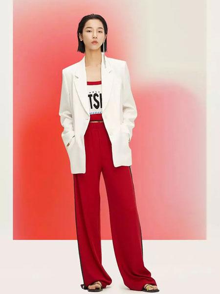 LOFT SHINE女装品牌2020春夏新款卡其色西装外套