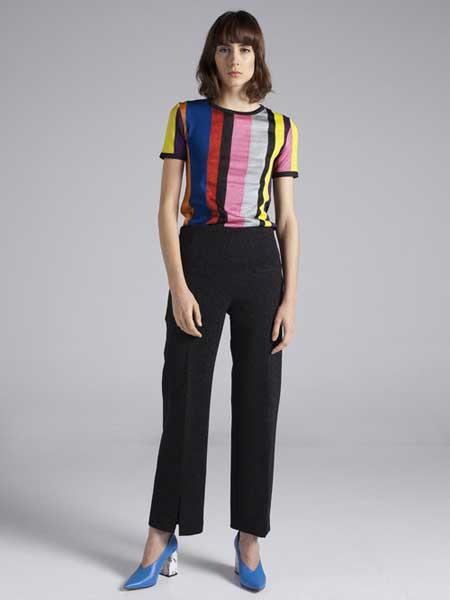 Moises Nieto国际品牌2020春夏时尚彩色短袖