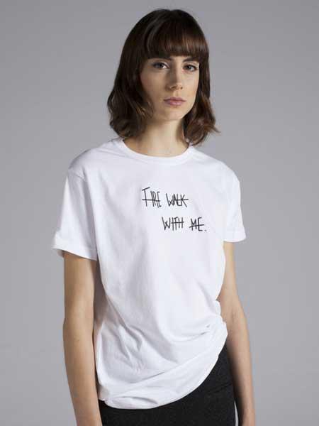 Moises Nieto国际品牌2020春夏宽松纯棉短袖