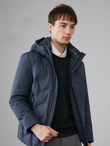 培蒙夹克男2020春季新款青年商务休闲修身茄克衫纯色立领男士外套