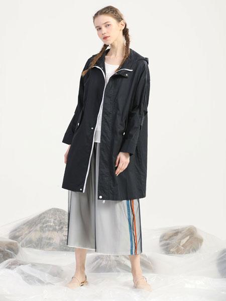 芊伊朵女装品牌2020春夏新款纯色真丝气质外套