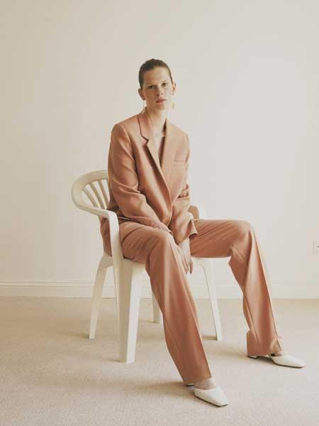 Malaikaraiss国际品牌品牌2020春夏知性西装套装