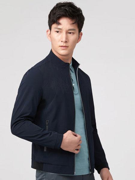 圣得西夹克外套男2020年夏季新款男青年立领休闲男装上衣外套男潮