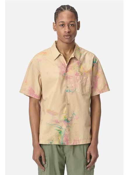 John Elliott国际品牌品牌2020春夏复古衬衫短袖