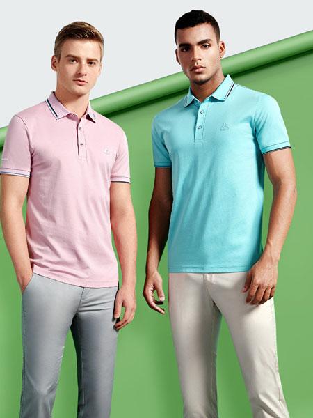 劳夫罗伦男装品牌2020春夏新款纯色翻领气质POLO衫