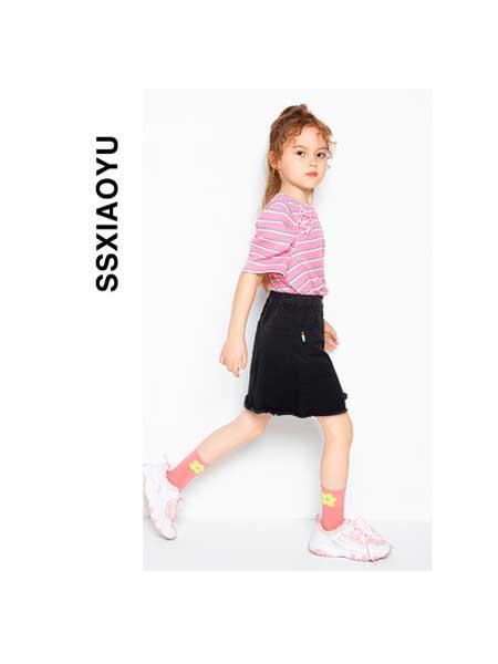 时尚小鱼童装品牌2020春夏休闲运动套装