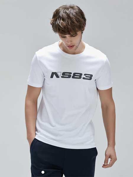 LINCS男装品牌2020春夏新款圆领T恤