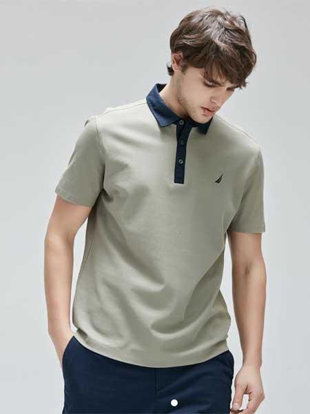 LINCS男装品牌2020春夏新款高领T恤