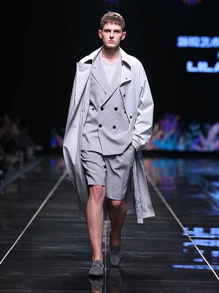 利郎男装品牌2020春夏新款联名系列气质长款风衣