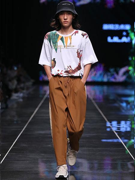 利郎男装品牌2020春夏新款联名系列纯色绣花气质POLO衫