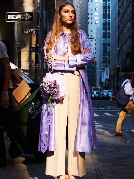 leur logette国际品牌2020春夏淑女温柔套装裙