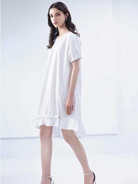 卡尼欧女装品牌2020春夏宽松纯棉连衣裙