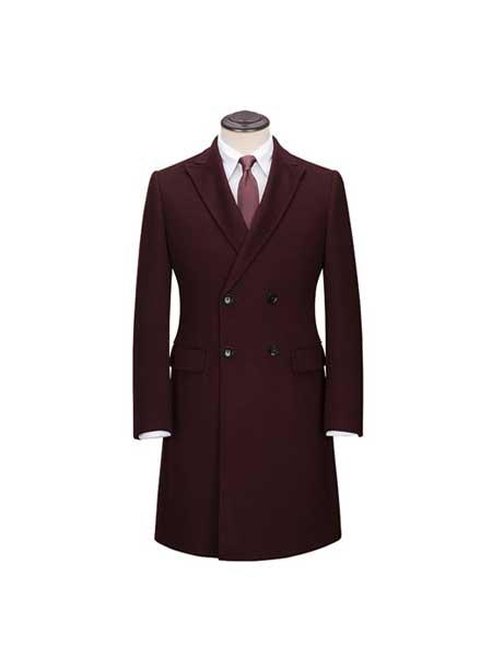 蓝戈瑞男装品牌2020春夏商务大衣外套