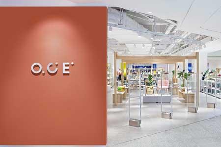 O.C.E.品牌店铺展示