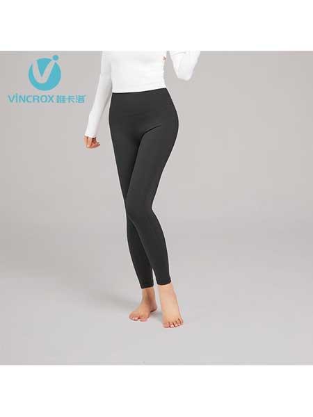 唯卡洛女装品牌2020春夏瑜伽服抗菌防汗臭味裸感健身裤