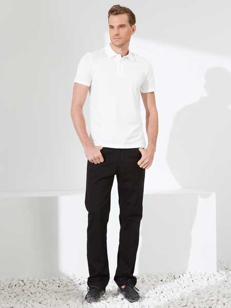 富绅男装品牌2020春夏男士polo衫短袖