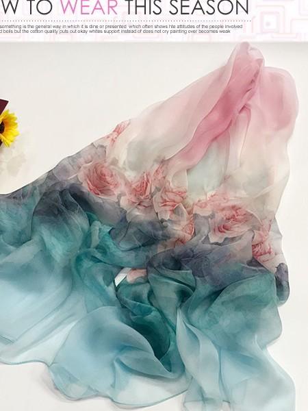 越缇美丝巾品牌2020春夏新品