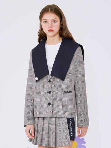 rolarola国际品牌品牌2020春夏学生服百褶裙套装