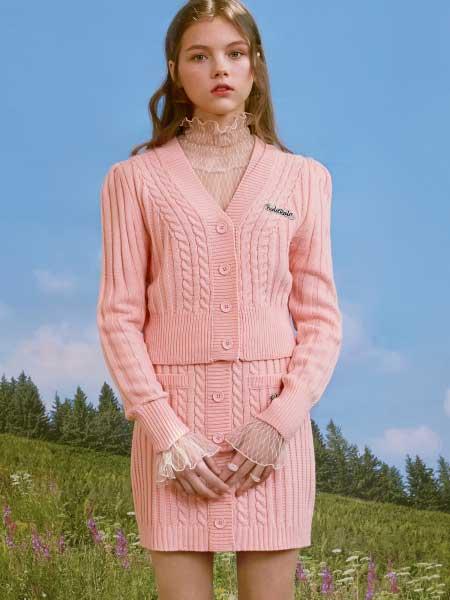 rolarola国际品牌品牌2020春夏淑女针织套装裙