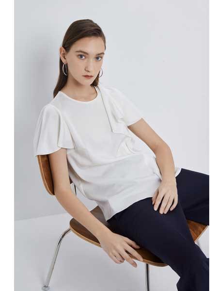 宝姿1961国际品牌品牌2020春夏纯棉T恤