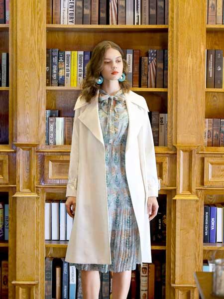 欧伊力女装品牌2020春夏时尚知性风衣外套