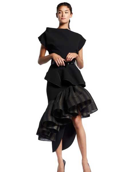 MATICEVSKI国际品牌品牌2020春夏个性收腰连衣裙