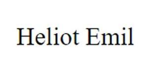 Heliot Emil