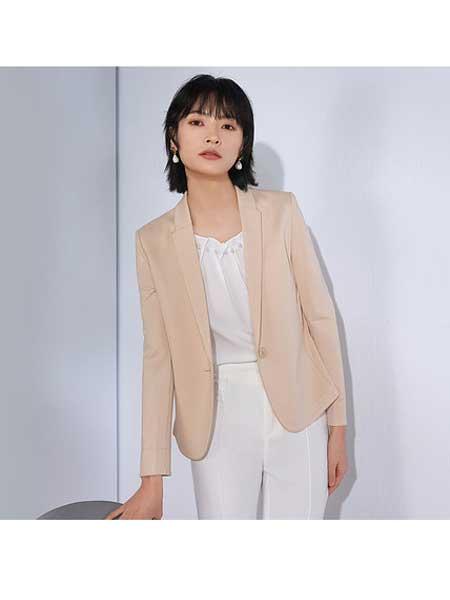 巨千女装品牌2020春夏小西装外套女设计感小众韩版宽松休闲职业西服