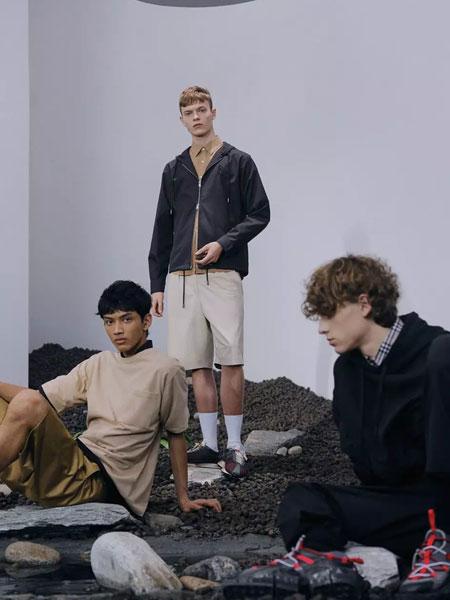 ONEMORE男装品牌2020春夏新款纯色运动外套