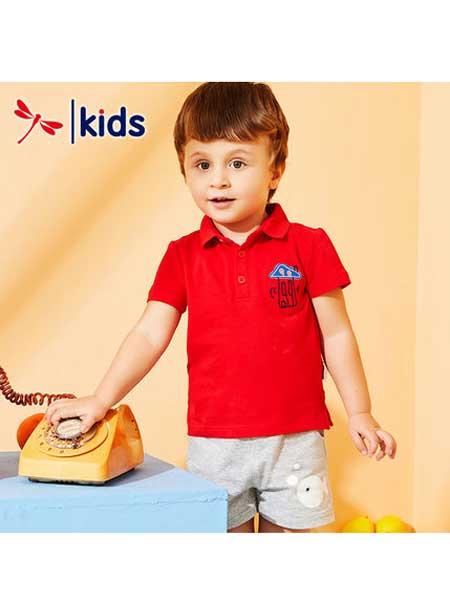 红蜻蜓童装品牌2020春夏polo衫宝宝衫