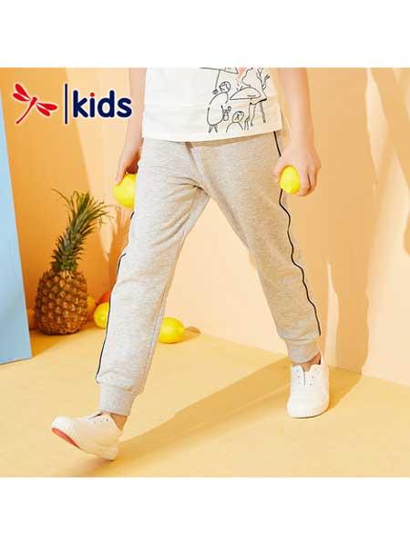 红蜻蜓童装品牌2020春夏长裤九分裤