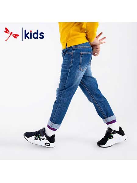 红蜻蜓童装品牌2020春夏显瘦牛仔裤