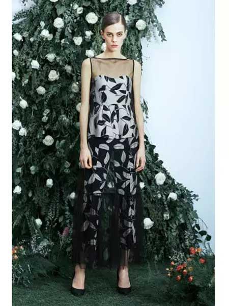 Tony&tony's女装品牌2020春夏时尚个性图案连体裤
