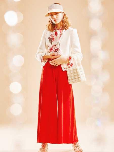 裘缇诺女装品牌2020春夏时尚知性套装裙
