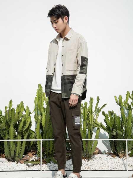 尚谷男装品牌2020春夏男士牛仔夹克衫