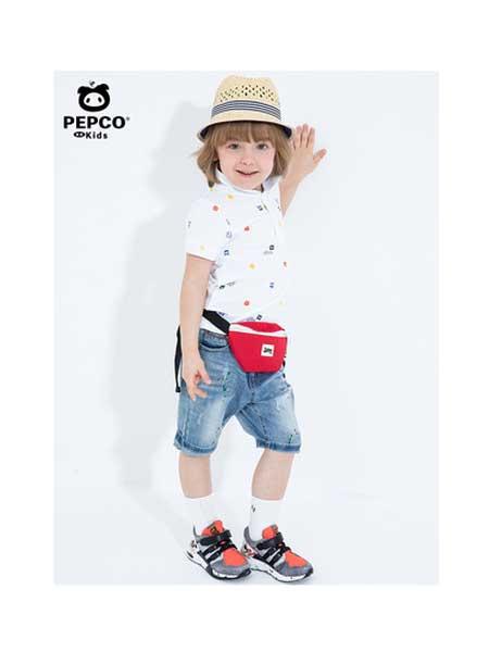 小猪班纳童装品牌2020春夏男童短袖t恤新款圆领纯棉体恤儿童打底衫