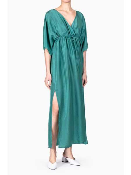 Roberto Collina国际品牌品牌2020春夏丝绸宽松连衣裙
