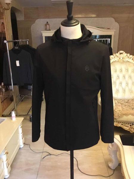 萨卡罗S.ALCAR男装品牌2020春夏男士休闲夹克衫