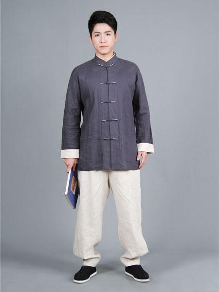 昕汉唐女装品牌2020春夏男性汉服外套