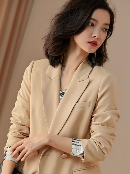 米思阳女装品牌2020春夏知性女性西装套装