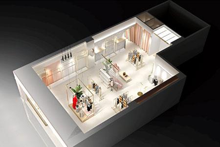 领卉品牌店铺展示