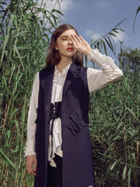 loomva洛米唯娅女装品牌2020春夏无袖外套