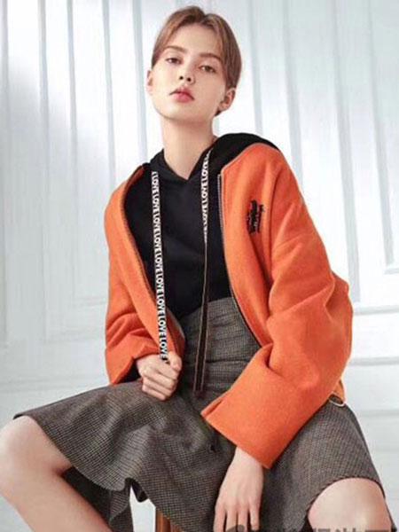 loomva洛米唯娅女装品牌2020春夏红色外套