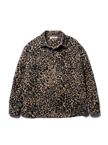 COOTIE PRODUCTIONS国际品牌2020春夏豹纹夹克衫