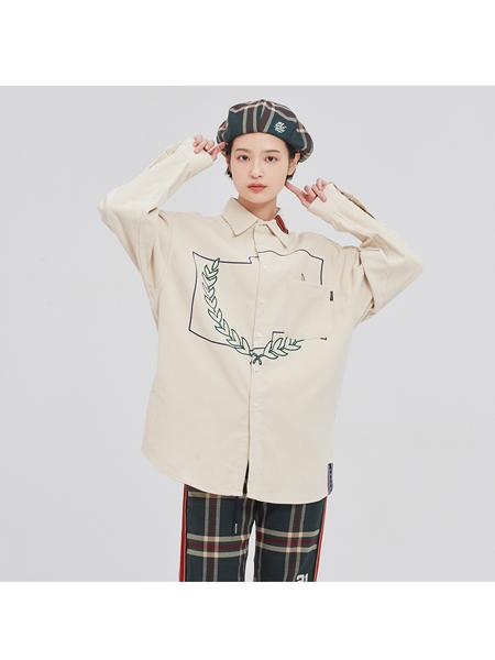 Romantic Crown国际品牌2020春夏衬衫2020新款春秋韩版上衣