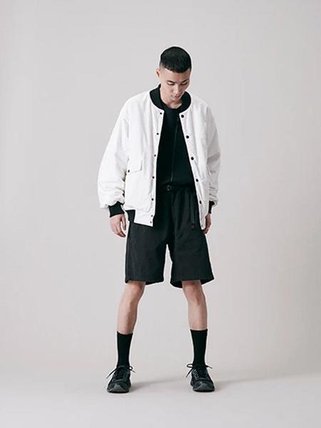 Gramicci国际品牌2020春夏休闲白色夹克衫
